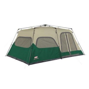 Coleman 10p Weathertec Instant Cabin Tent