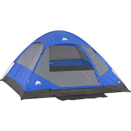 Ozark Trail 7' x 7' Dome Tent, Sleeps 2 - Ozarkt戶外露營